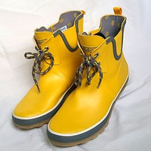 WindRiver Rubber Boots, Yellow, 9